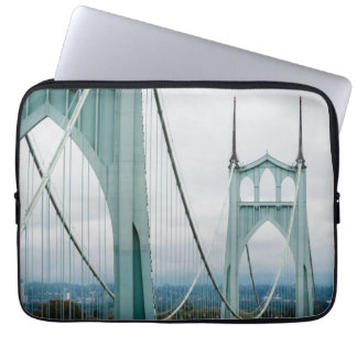 The beautiful St. John's Bridge Laptop Sleeve