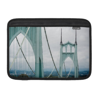 The beautiful St. John's Bridge Sleeve For MacBook Air