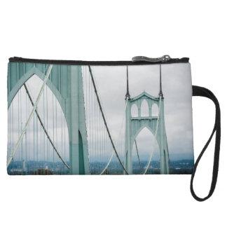 The beautiful St. John's Bridge Wristlet