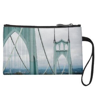 The beautiful St. John's Bridge Wristlet Clutches