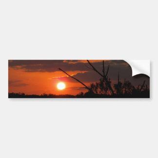 The Beautiful Sunset Bumper Sticker