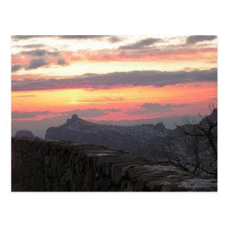 The Beautiful Sunsets of Southern Arizona Postcard