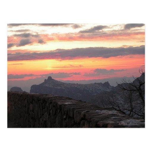 The Beautiful Sunsets of Southern Arizona Post Cards