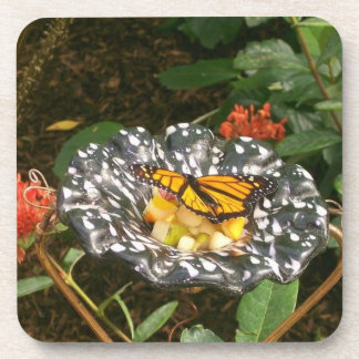 The Beauty of a Butterfly. Drink Coasters