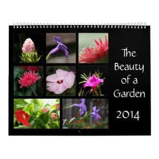 The Beauty of a Garden, 2014 Flower Calendar