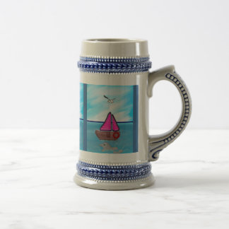 The Beauty Of Daylight Beer Stein