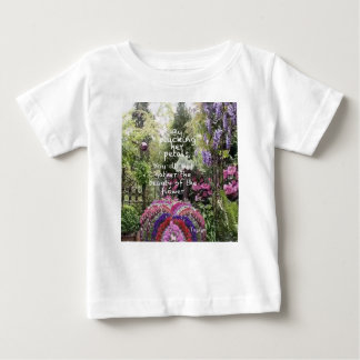 The beauty of flowers of garden is a great scenery baby T-Shirt
