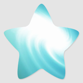 The Beauty of Green Star Sticker