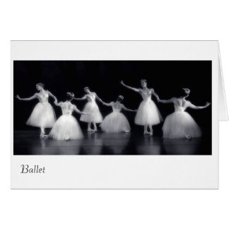 The Beauty Of It All Ballet Greeting Cards