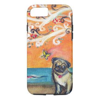 the beauty of orange iPhone 7 case