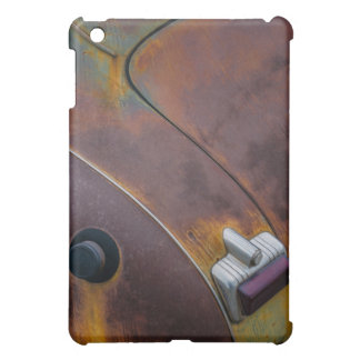 The beauty of texture of an aged vintage car iPad mini covers