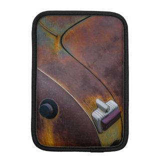 The beauty of texture of an aged vintage car iPad mini sleeve