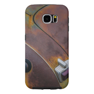 The beauty of texture of an aged vintage car samsung galaxy s6 cases