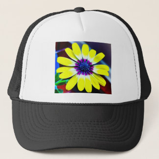 The Beauty of Yellow and Purple Trucker Hat