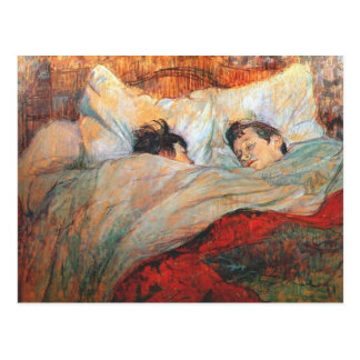 The Bed Postcard
