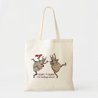 The bedbugs dance! tote bag