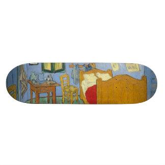 The Bedroom by Vincent Van Gogh Skateboard Decks