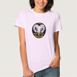 THE BEER MAN SHOW Ladies Goat Skull shirt