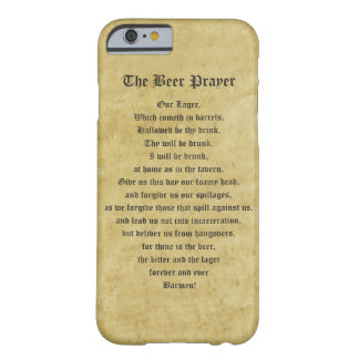The Beer Prayer Barely There iPhone 6 Case