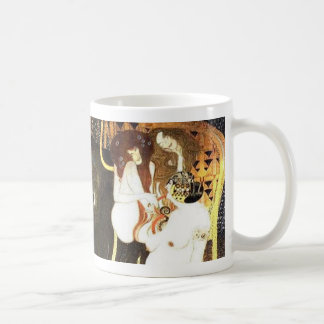 The Beethoven Frieze by Klimt Coffee Mug