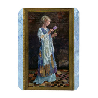 The Beggar Princess and the Magic Rose Rectangular Photo Magnet