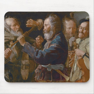 The Beggars' Brawl, c.1625-30 (oil on canvas) Mouse Pad