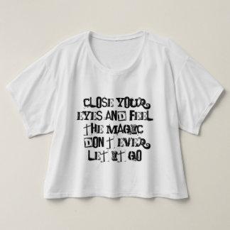 The Beginning lyrics T-Shirt