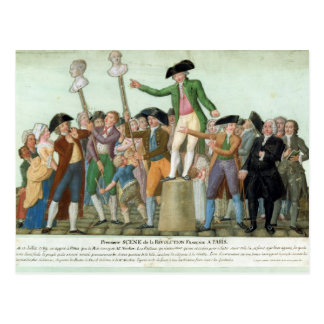 The Beginning of the French Revolution Postcard