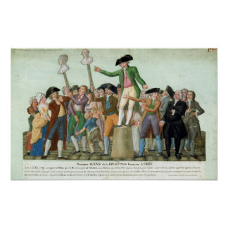 The Beginning of the French Revolution Poster