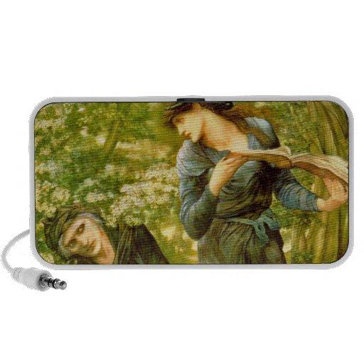 The Beguiling of Merlin - Edward Burne-Jones Travelling Speaker