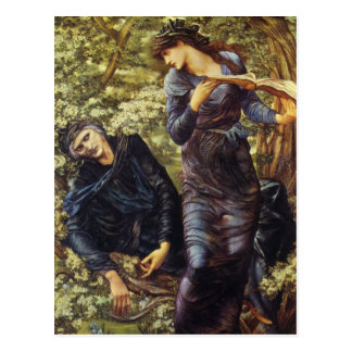 The Beguiling of Merlin Postcard