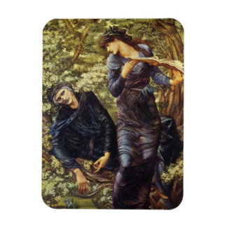 The Beguiling of Merlin Rectangular Photo Magnet