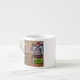 The Bell Tower Antique Stone Arches Espresso Mug