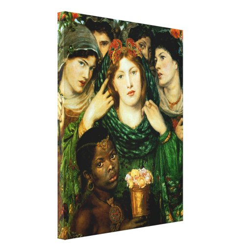 The Beloved (The Bride) Stretched Canvas Prints