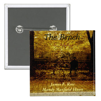 The Bench 15 Cm Square Badge