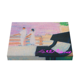 the bench gallery wrapped canvas