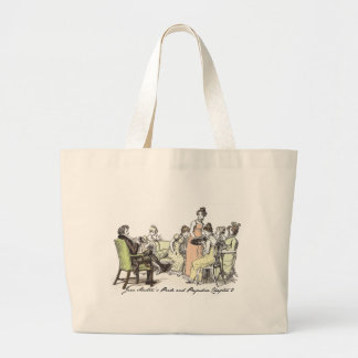 The Bennets of Longbourn - Jane Austen's P&P Large Tote Bag