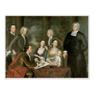 The Bermuda Group - Dean George Berkeley & Family Poster