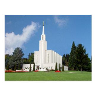 The Bern Switzerland LDS Temple Postcard
