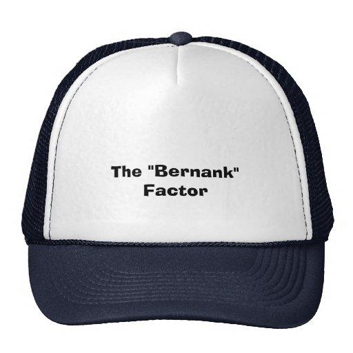 The Bernank Factor T-Shirts Finance Investments Trucker Hat