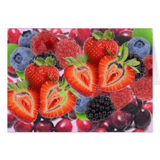 The Berry Boost greeting card