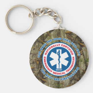 The Best are EMTs, the Rest are Firefighters Key Ring