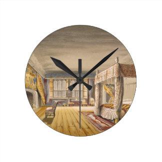 The Best Bedroom, Cotehele House, c.1830-40 (colou Round Clock