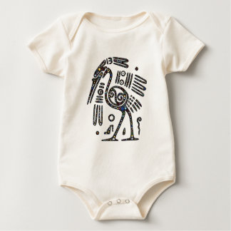 The best bird black and white baby bodysuit