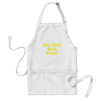 The Best Boss Ever Adult Apron