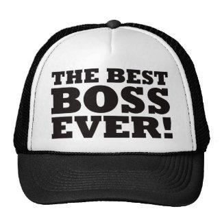 The Best Boss Ever Cap