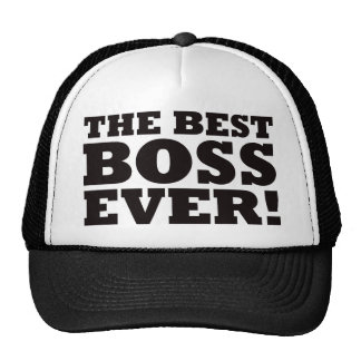 The Best Boss Ever Mesh Hat