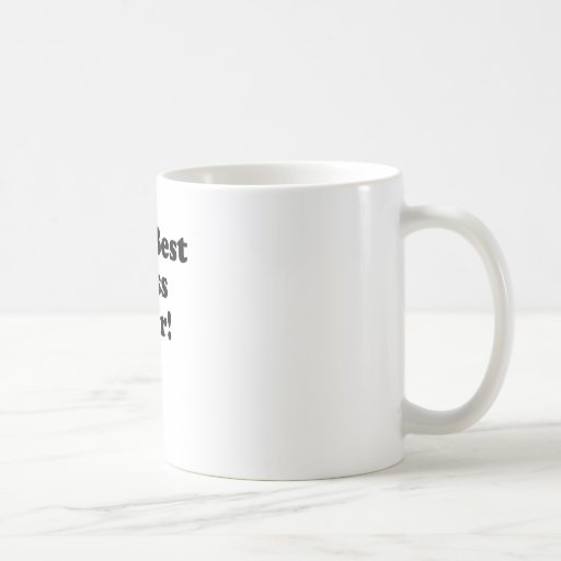 The Best Boss Ever Coffee Mug