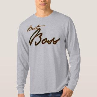 The best boss golden brown design T-Shirt