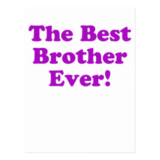 The Best Brother Ever Postcard